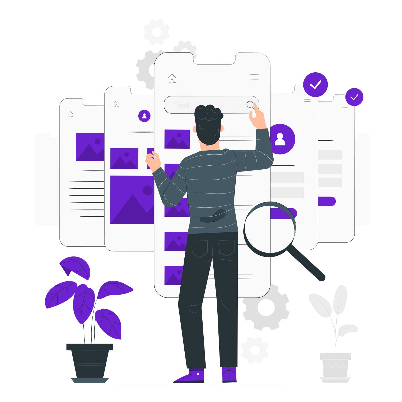 اصول فرم و طرح در وب موبایل