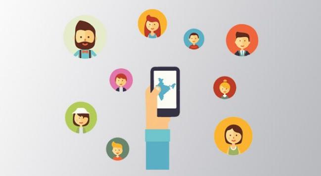 توانایی برقراری ارتباطی گسترده از طریق شبکه های اجتماعی